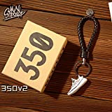 Fashion Mini Sneaker 3D Keychain AJ1 Basketball Shoes Key Ring Couple with Box for Christmas Gift 1Piece
