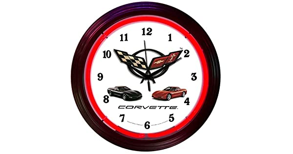 Amazon.com: Neonetics coches y motos Corvette C5 neón reloj ...