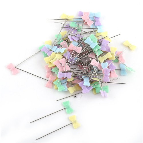 Sewing Pins - 100pcs Lot Sewing Accessory Patchwork Pin Box Diy Quilting Tool - Subsidiary Appurtenance Supportive Adjunct Accouterment Adjuvant Ancillary Appurtenant