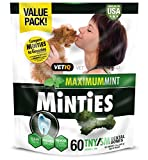 Vetiq Minties Dog Dental Bone Treats, Dental Treats For Dogs, Tiny/Small, 24Oz Review