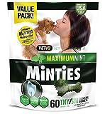 Vetiq Minties Dog Dental Bone Treats, Dental Treats For Dogs, Tiny/Small, 24Oz