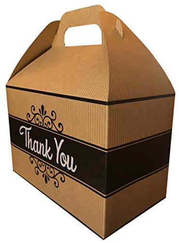 Thank You Cookies Care Package features classic Kraft Gift Box with Thank You graphic, stuffed with cookies, the perfect thank you gift!