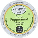 Best Twinings Tea Cups - Twinings Pure Peppermint Tea 48-Count K-Cups for Keurig Review