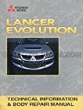 2003 Mitsubishi Lancer Evolution Technical Information and Body Manual