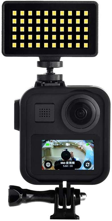 Lightcolor Go-Pro M-A-X 360-degree VR Panoramic Camera Bezel for Plastic Protective Frame