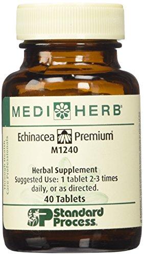 Standard Process- Echinacea Premium, 40 Tablets