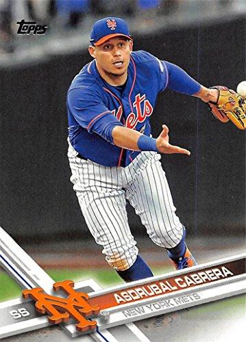 2017 Topps #86 Asdrubal Cabrera New York Mets