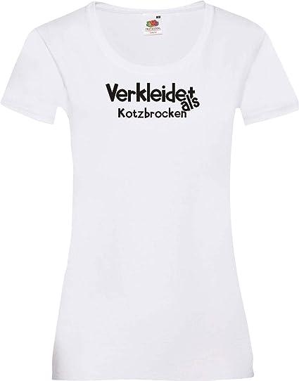 camiseta de chica Verkleidet als Hijo de puta verkleidet Disfraz ...