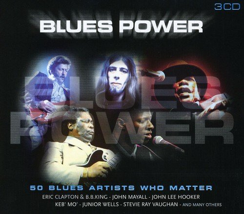 CD : VARIOUS ARTISTS - Blues Power /  Various (Holland - Import, 3PC)