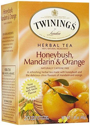 Twinings Unwind Herbal Tea, Honeybush, Mandarin & Orange, 1.41 oz