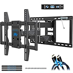 UNIVERSAL TV MOUNT FROM MOUNTING DREAMThe TV wall mount fits most 42 to 75 inches TV with MAX loading of 132 lbs. and up to 24 inch wood studs spacing, fitting VESA sizes from 200x100mm to 600x400mm. (Fitting for VESA size 200X100mm, 200X200m...