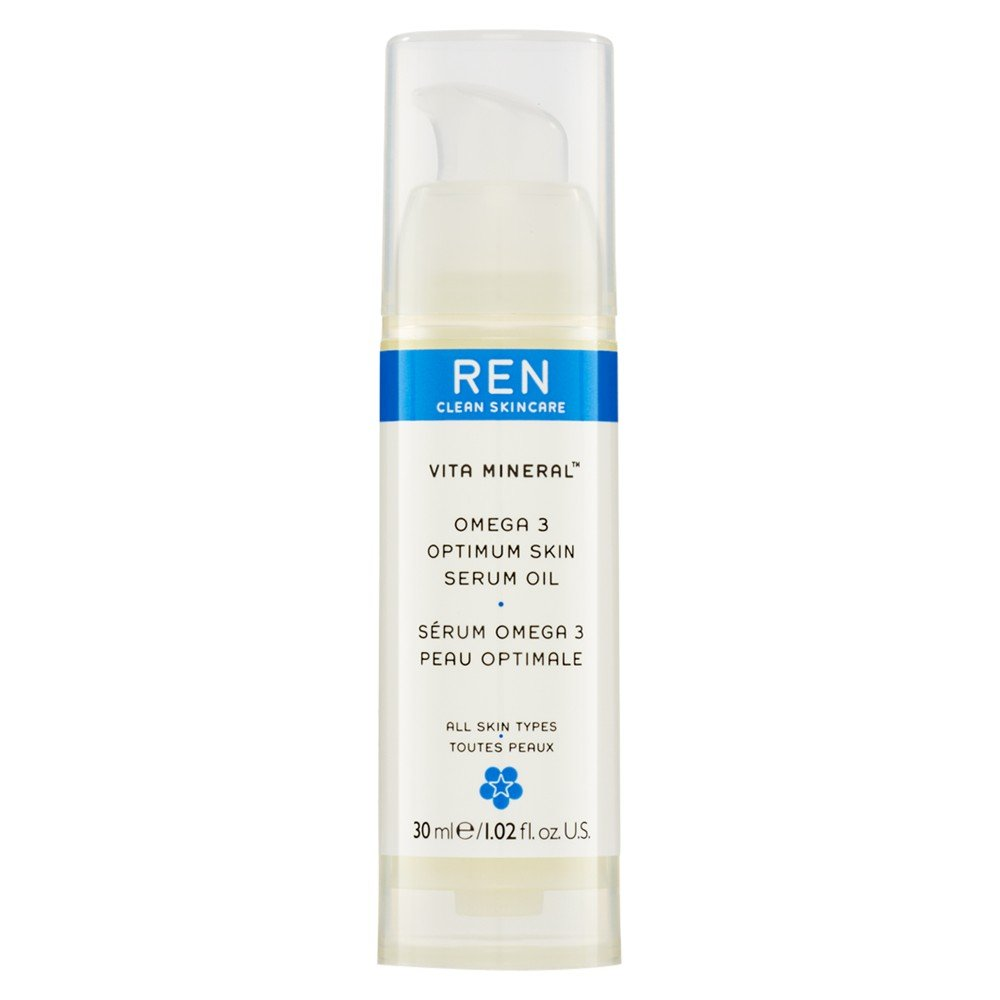 Renヴィータミネラルオメガ3の最適な肌の血清オイル30ミリリットル (REN) (x2) - REN Vita Mineral Omega 3 Optimum Skin Serum Oil 30ml (Pack of 2) [並行輸入品] B01N3KRWR3