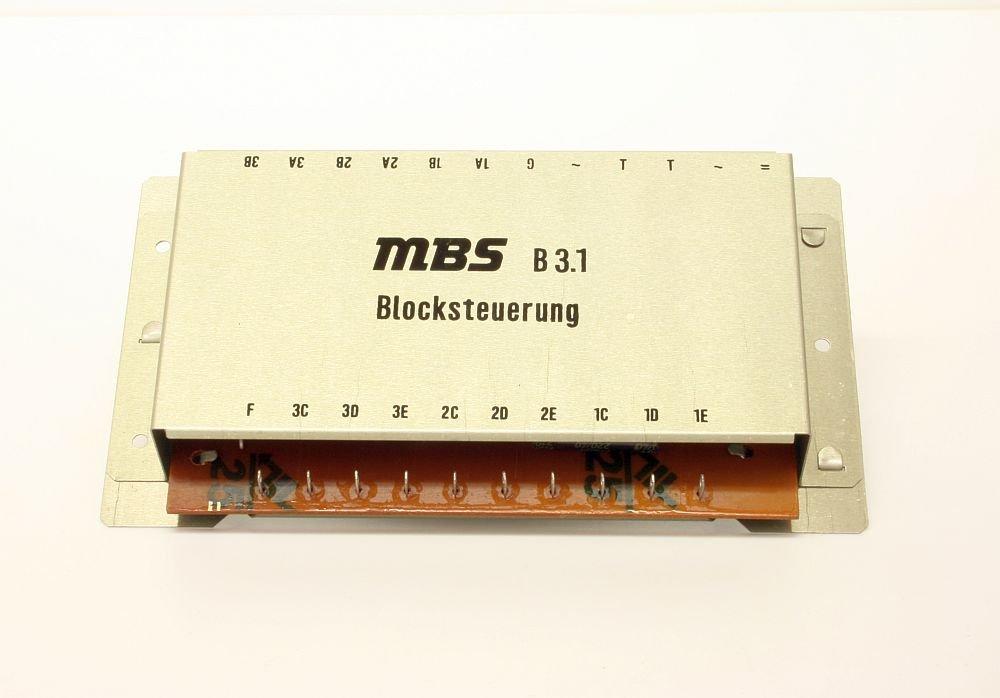 VEB GRW MBS B3.1 Blocksteuerung für drei Gleise: Amazon.de: Spielzeug