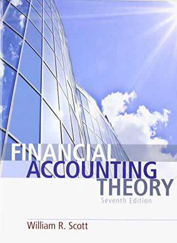Financial Accounting Theory (7th Edition)