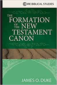 formation of the new testament canon pdf