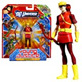 Mattel Year 2011 DC Universe Young Justice Series 4 Inch Tall Action Figure - SPEEDY with Bow and Piece to Build 'The Hall of Justice' (W1819)