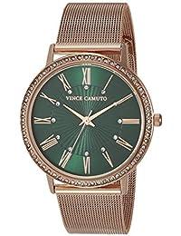 Women's Crystal Accented Mesh Bracelet Watch