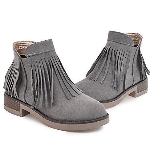 Pull Classic Bootie Femme COOLCEPT On Grey wvqSZYZx