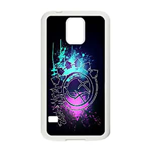 FOR Samsung Galaxy S5 -(DXJ PHONE CASE)-Love Music - Blink 182 Music Band-PATTERN 14