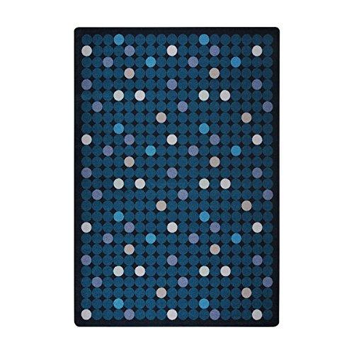 Joy Carpets Playful Patterns Children's Spot On Area Rug, Seaside, 5'4'' x 7'8'' by Joy Carpets