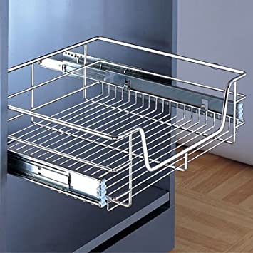 Pull Out Wire Baskets For 450mm Cabinet