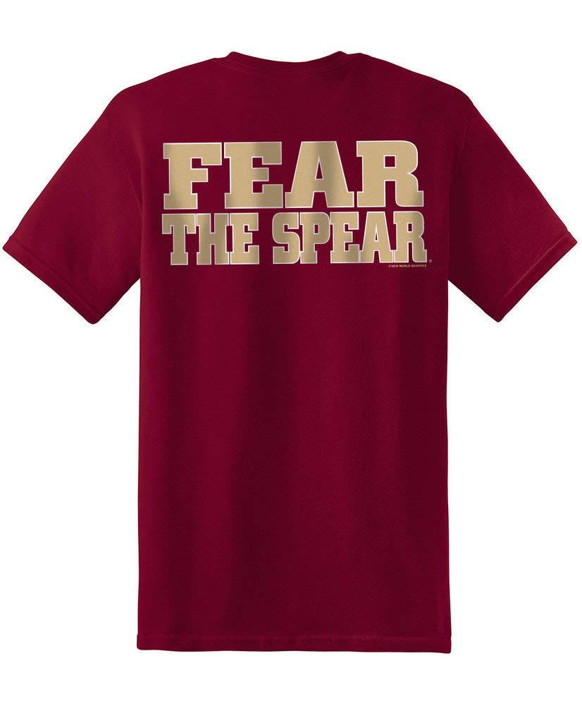 Elite Fan Shop NCAA Mens T Shirt Team Color Back