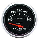 Auto Meter 3536 Sport-Comp Electric Cylinder Head Tempera...