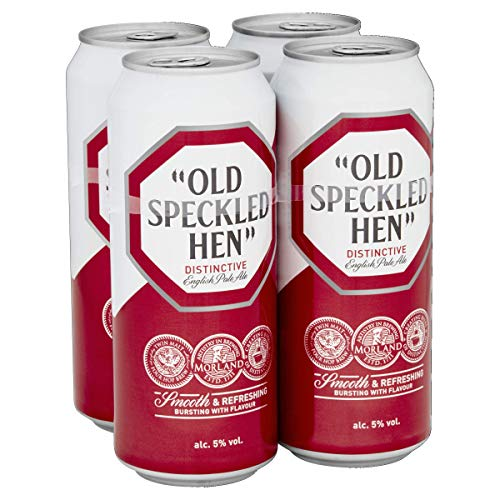 Old Speckled Hen Beer, 500 ml, Case of 24