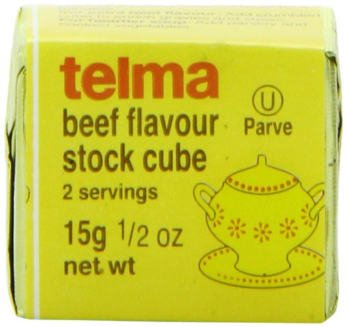 (Telma Stock Cubes, Beef Flavor, 3 Count (Pack of)