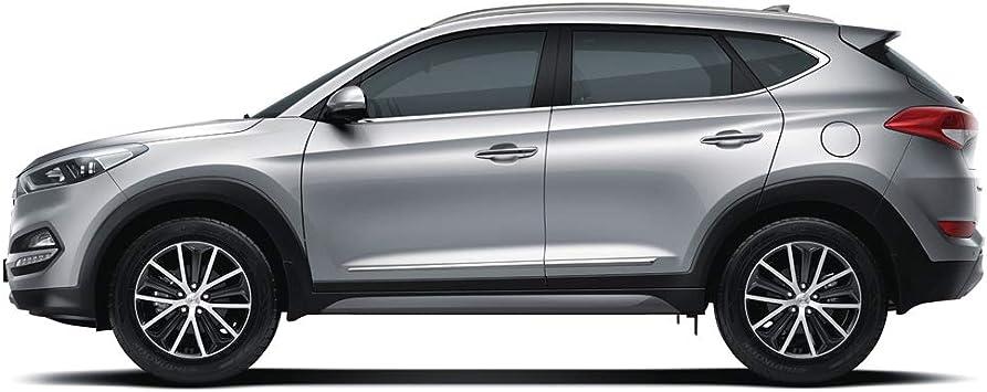 Chrome Side Skirt Molding Trim Cover for 2018 2019 Hyundai Santa Fe