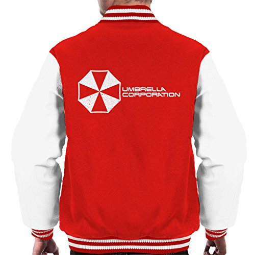 Varsity Resident Jacket Corporation Cloud Umbrella 7 Men's Evil Logo City qTEz8