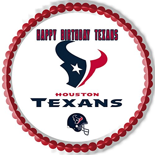Amazon Houston Texans Edible Cake Topper