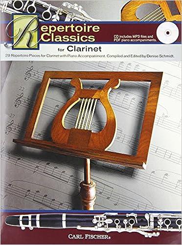 WF112 - Repertoire Classics for Clarinet