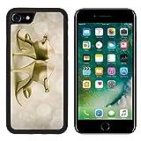 MSD Premium Apple iPhone 7 Aluminum Backplate Bumper Snap Case Image ID 27287897 Argentine tango stilettos on abstracrt background