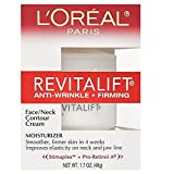 Cheap L'Oreal Paris Revitalift, Anti-Wrinkle, Firming Face And Neck Contour Cream, 1.70 Ounce (Pack of 3)