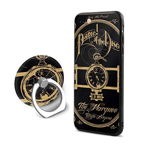 Panic at The Disco iPhone 7/8 Case with 360 Rotating Ring Grip Holder Slim Protection Scratch Resistant Back Cover Shock Absorbent TPU Bumper]()