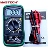 Electrade Mastech Mas830L Digital Multimeter - Multi Meter With Probes For Measuring Resistance. Ac/Dc Voltage And Current