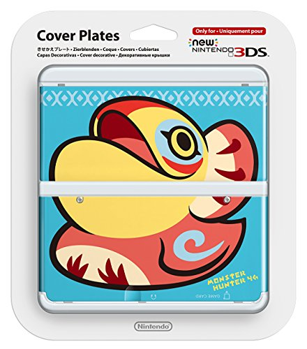 New Nintendo 3ds Cover Plates No.037 (monster hunter 4G) ...