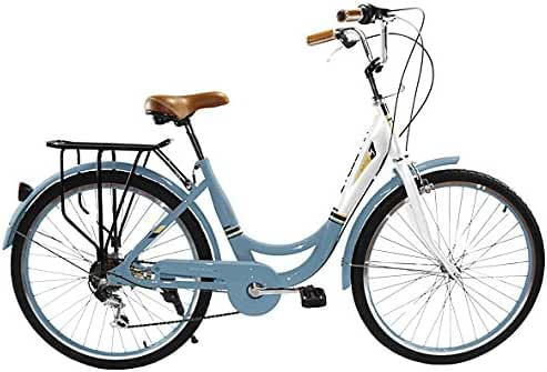 Zycle Fix ZF-MSBL-26 City Bikes, Misty Blue, 26-Inch Wheel/Frame