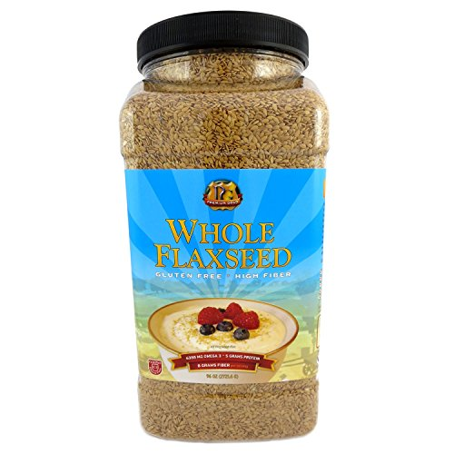 Premium Gold Whole Flaxseed 96 Ounce product image
