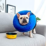 MorTime Protective Inflatable Collar for Dogs and Cats Adjustable Soft Pet Recovery Collar - Does Not Block Vision 15