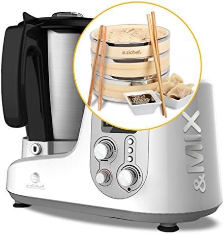 Robot de cocina e.zichef & MIX CLASSIC BAMBOO: Amazon.es: Hogar