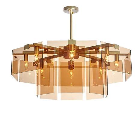 Sfdsg LED Ceilingled iluminación, LED Vidrio lámparas Nordic ...