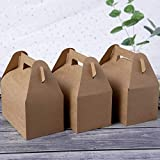 25-Pack Gable Brown Candy Treat Boxes,Small Goodie