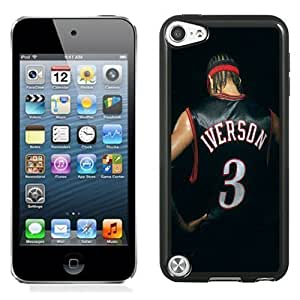 New Personalized Custom Designed For iPod Touch 5th Phone Case For Allen Iverson Back Phone Case Cover