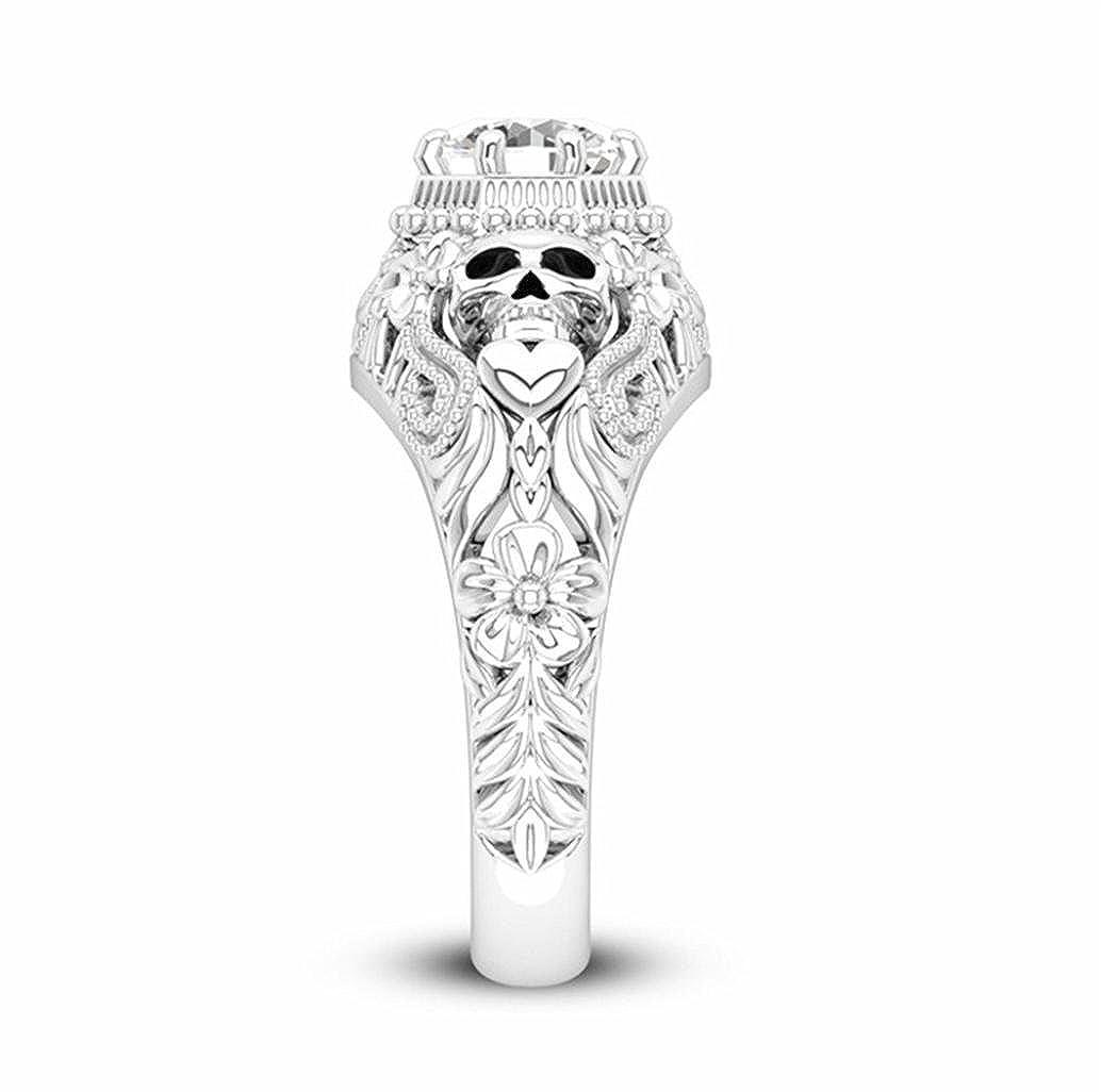 BEUU Yellow Diamond Ring with Diamonds Bee Shape Yellowstone with Fingers Ring