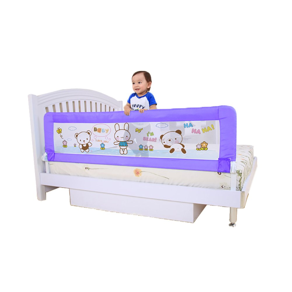 Baby Safe Bed Rail Crib Rail 1.8meters KB023 Purple by Baby Product (Image #1)