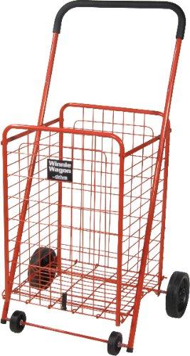 Red Winnie Wagon All Purpose Shopping Utility Cart 1 pcs sku# - Winnie Wagon