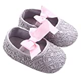 GOTD Glitter Baby Shoes Sneaker Anti-slip Soft Sole Toddler Prewalker (US 2.5, 0~6 Month , Gray ) by Goodtrade8