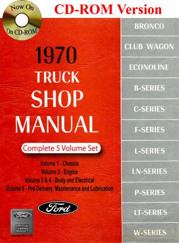 1970 Ford Truck Shop Manual (1970 Ford Truck)